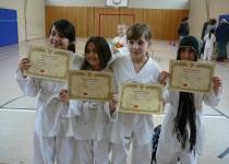OGS 2016 – Taekwondo Gürtelprüfung